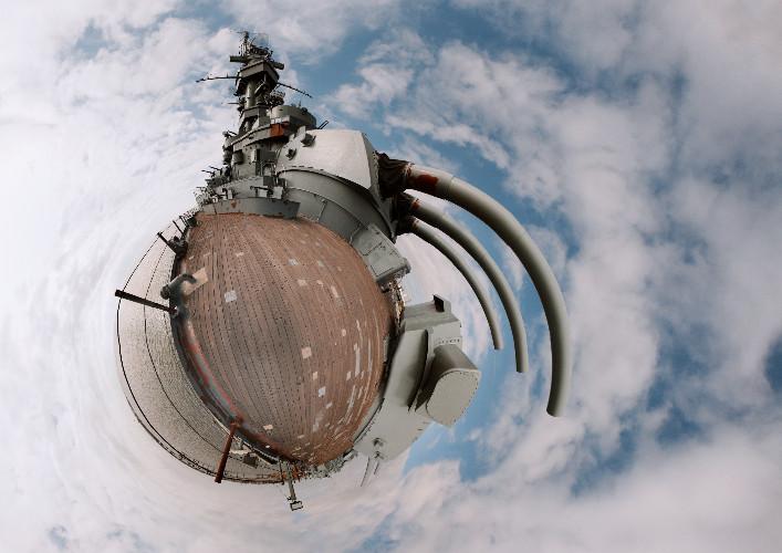 """""""USS Alabama Small World"""", by Patrick David"""
